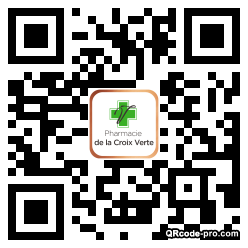 QR code with logo 1sUB0