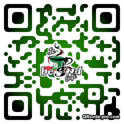 QR code with logo 1sUn0