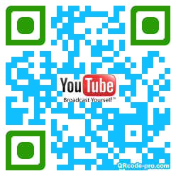 QR code with logo 1sd50