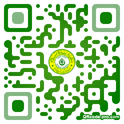 QR code with logo 1shl0