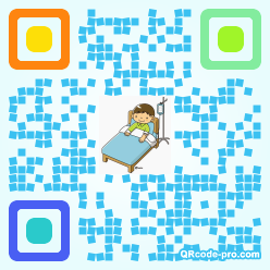 QR code with logo 1smX0