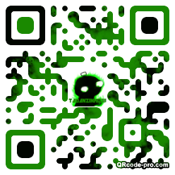 QR code with logo 1t390