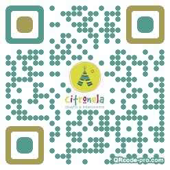 QR code with logo 1t3u0