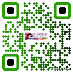 QR code with logo 1t600