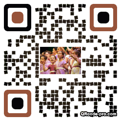 QR code with logo 1t6a0
