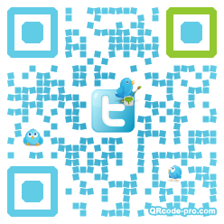 QR code with logo 1t7p0