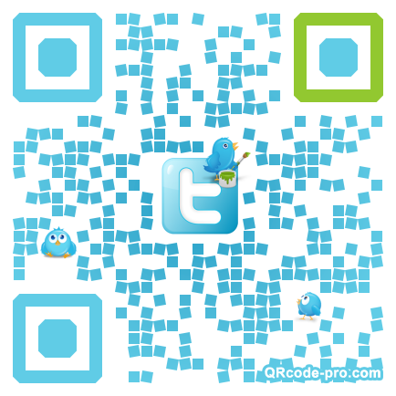 QR code with logo 1t8w0