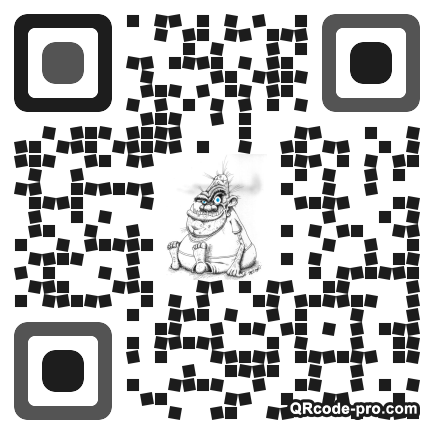 QR code with logo 1tAg0