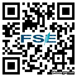 QR code with logo 1tH10
