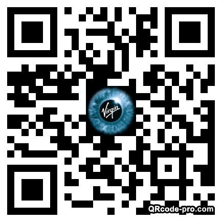 QR code with logo 1tOO0