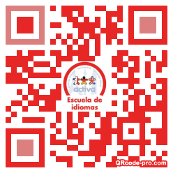QR code with logo 1tY30