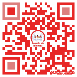 QR code with logo 1tY90