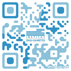 QR code with logo 1tbv0