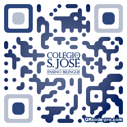QR code with logo 1th90