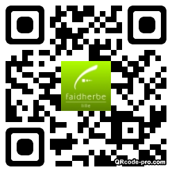 QR code with logo 1tjr0