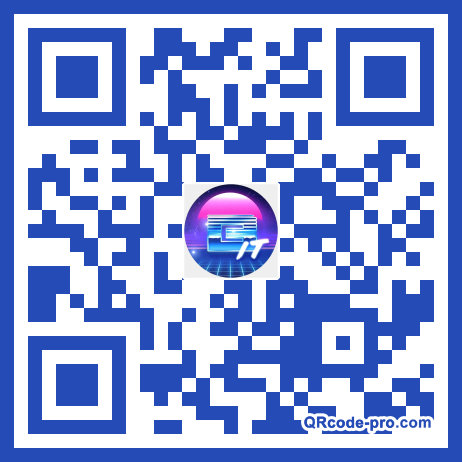 QR code with logo 1txf0
