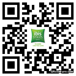QR code with logo 1tza0