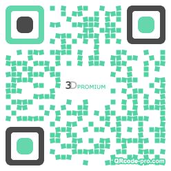 QR code with logo 1u360