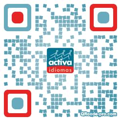 QR code with logo 1u6v0