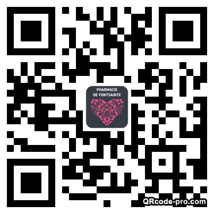 QR code with logo 1u7c0