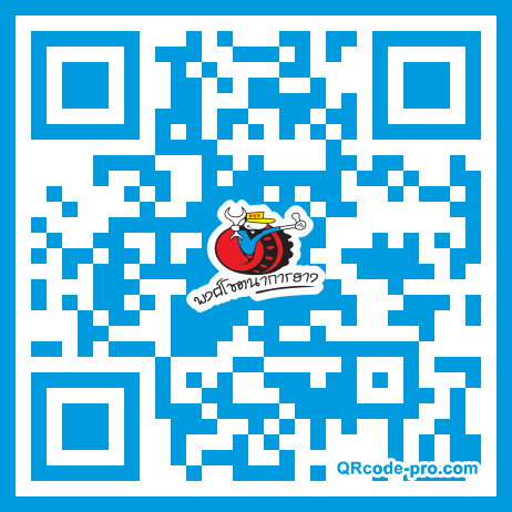 QR code with logo 1uF40