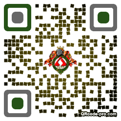 QR code with logo 1uFg0