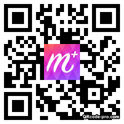 QR code with logo 1uX50