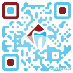 QR code with logo 1uhi0