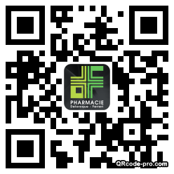 QR code with logo 1up60