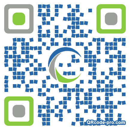 QR code with logo 1us00
