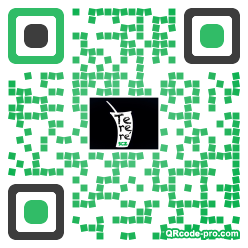 QR code with logo 1ux30