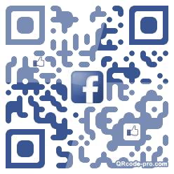 QR code with logo 1v0N0