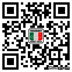 QR code with logo 1v0d0