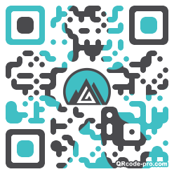 QR code with logo 1v140