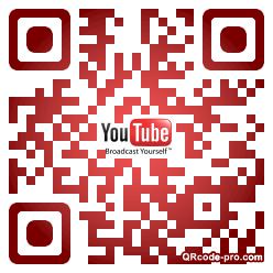 QR code with logo 1v3i0