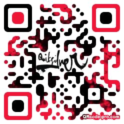 QR code with logo 1v4Y0