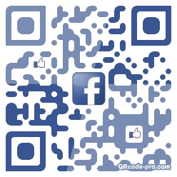 QR code with logo 1v5g0