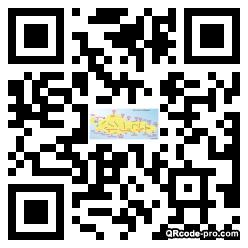 QR code with logo 1v6z0