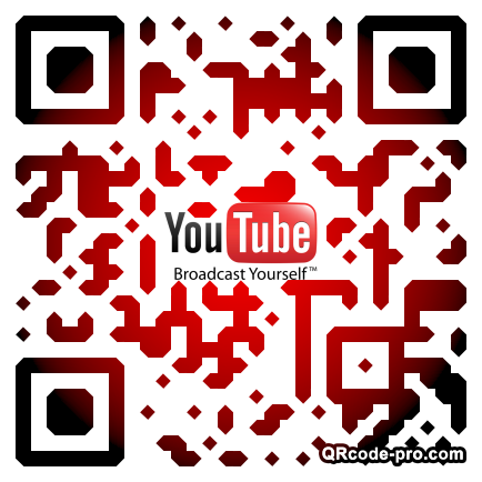 QR code with logo 1v7s0