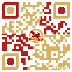 QR code with logo 1vFE0