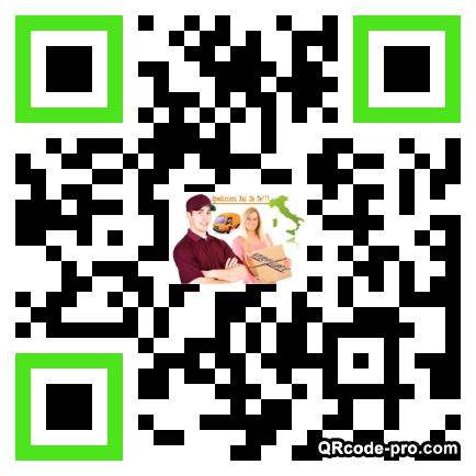 QR code with logo 1vJ20