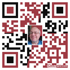 QR code with logo 1vR30