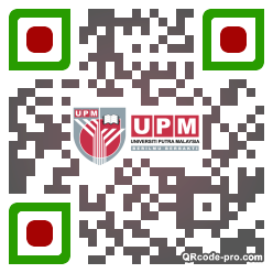 QR code with logo 1vRI0