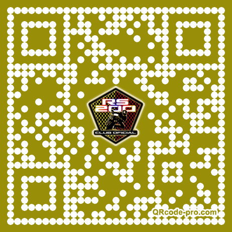 QR code with logo 1vRO0