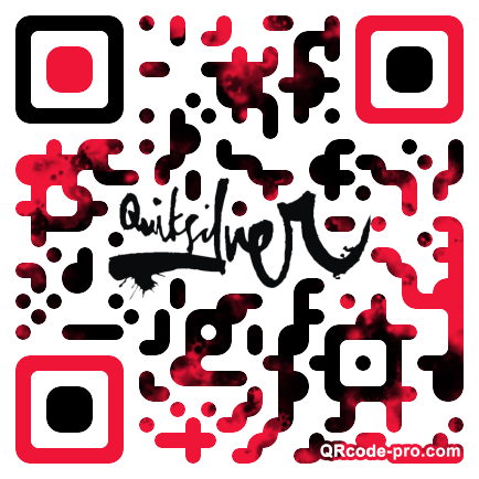 QR code with logo 1vSE0