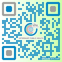 QR code with logo 1vSW0
