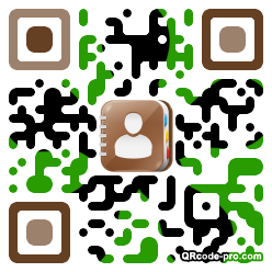 QR code with logo 1vV90