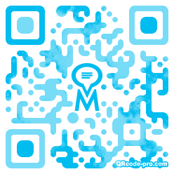 QR code with logo 1vci0