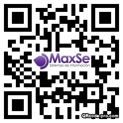 QR code with logo 1vcs0