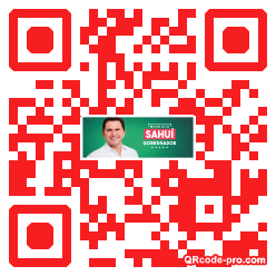 QR code with logo 1vd60